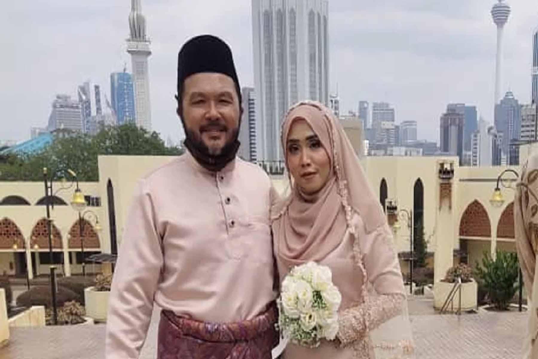 'Detektif Lim' nikah pada usia 55 tahun