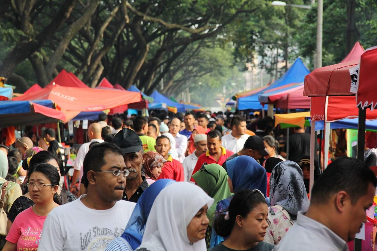 DBKL sedang meniliti larangan warga emas dan kanak-kanak berkunjung ke Bazar Ramadhan