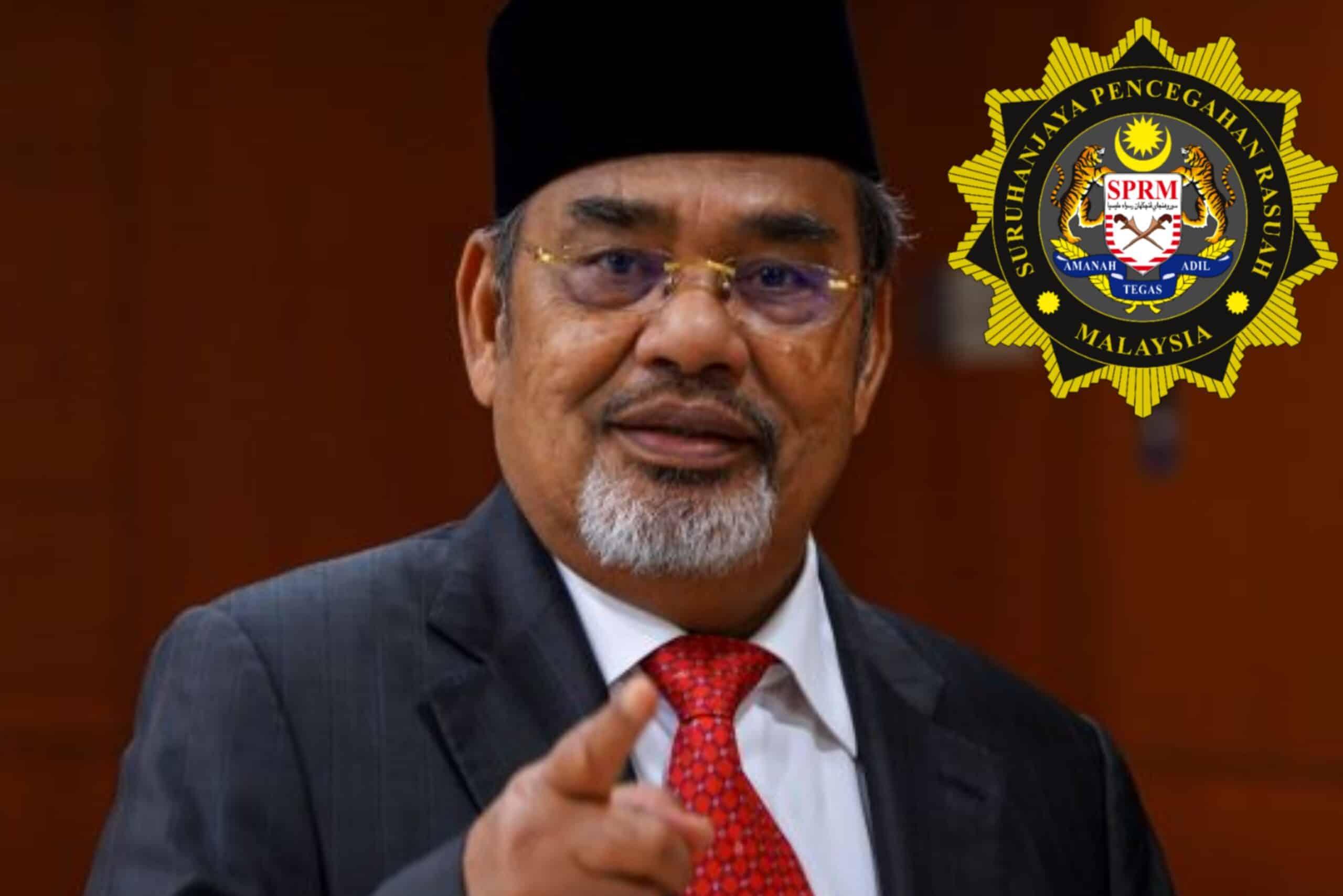 Tajuddin ditahan SPRM kes salah guna kuasa