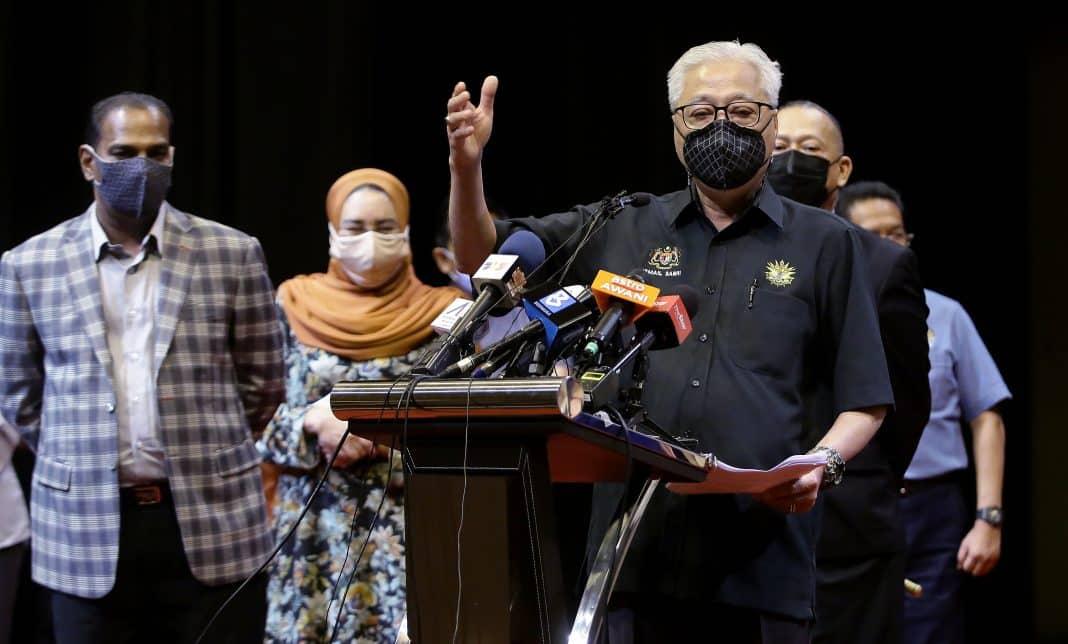 Senarai Ahli Parlimen UMNO/BN yang menyokong Muhyiddin kekal sebagai Perdana Menteri